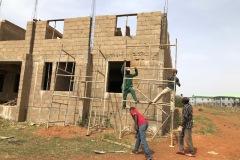 north-west-corner-workers-errecting-scaffolding